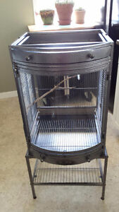 Bow Front Bird Cage