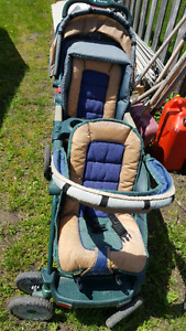 Jeep brand double stroller