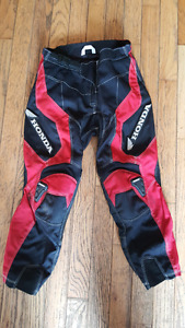 Boys motocross pants