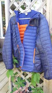 Quechua light weight down jacket (European style)