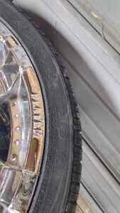 """22"""" Player Rims With Tires (2 New) Windsor Region Ontario image 6"""