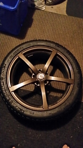 Dai aftermarket rims with new tires