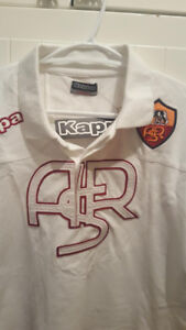 La Roma. KAPPA AUTHENTIC QUALITY ROMA SHIRT. MEN'S XSMALL