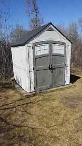 SHED...FOR SALE...$.600.00  half price