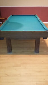 Table de Pool a vendre