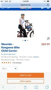 Bike child carrier