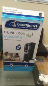 Rarely used Garrison oil heater