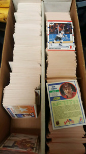 1990 score NHL hockey cards collection