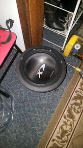 "10"" sub only. Alpine type x 3000 watts max"