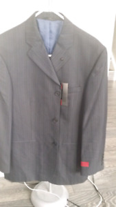 Mens coat and suit