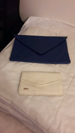 Two clutch bags.