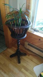 Antique wood fern/flower stand
