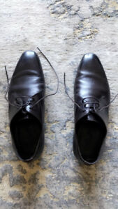 Giorgio Armani men's dress shoes fit for a graduation/groom!!