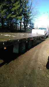 8ft by 20ft deck over trailer