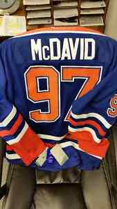 XL Connor McDavid Oilers Jersey
