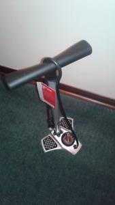 Pompe de vélo de route.