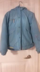 Puffy Warm Blue Jacket