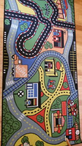 Toy car mat for kids