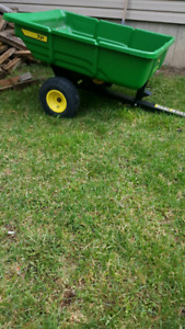 Trailer and lawn roller