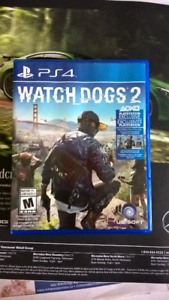 PS4 - Watchdog 2 or Trade for Need for Speed ps4 game - $25