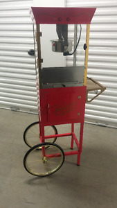 MOVING SALE Theater size popcorn maker with cart and accessories