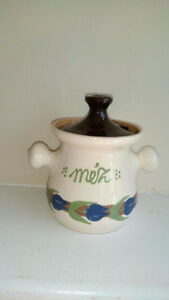 Original Hungarian Ceramic Honey Container NEW
