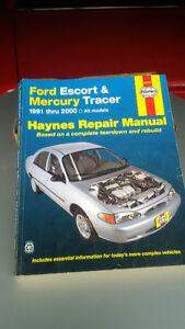 Haynes Repair Manual Ford Escort & Tracer (1991-2000)