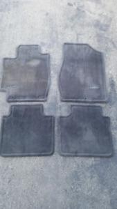 2005  Toyota Camry OEM floor mats, black