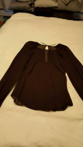 Women's blouse and dresses, SZ 8, EUC
