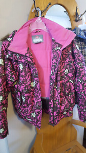 2 girls Size 14 winter coats
