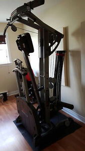Bowflex Ultimate 2 with accessory bench