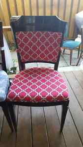 TWO ACCENT OR DINING CHAIRS FOR SALE REDUCED