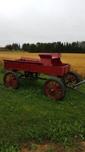 Ford Delivery Horse Wagon