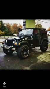 2004 Jeep TJ Coupé (2 portes)