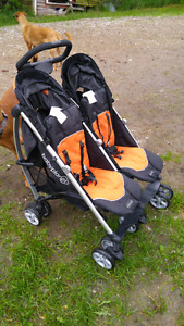 Baby Planet Unity Sport Double Stroller