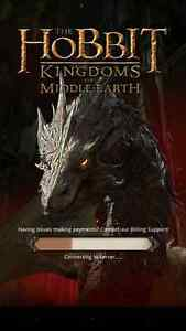 The Hobbit: Kingdoms of Middle Earth Game Advanced Account