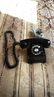 ANTIQUE WESTERN ELECTRIC DESK TELEPHONE