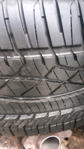 225/50R16 4 summer tires with mags on 199$