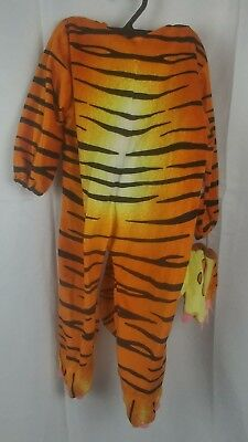 Little Tiger Costume Underwraps Large 2 - 4 years  Head, Body, & Gloves Dress up - Little Boy Tiger Costume
