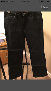 Old navy boot cut black jeans
