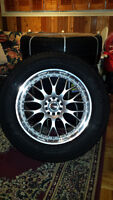 Brand New Michelin P235/65R18 w/ Brand New Rims!