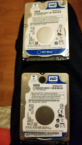 "Laptop 2.5"" Hard Drive (500GB and 320GB)"