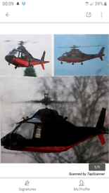 Morley Agusta 109 radio controlled helicopter