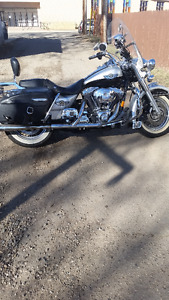 2003 road king 100th anniversary silver edition