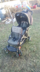 Double duo glider stroller