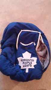 Toronto Maple Leafs baby car seat cover
