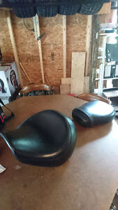 Saddle and Rear Seat