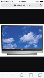 Sony 60 inch rear projection 1080p TV