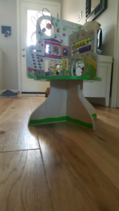 Wooden Tree Play Activity Centre