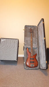Fender Rumble 200 and Ibanez Soundgear SR500 for sale Cornwall Ontario image 1
